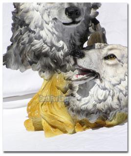 Wolf als Büste und Dekofigur - Vorschau 3