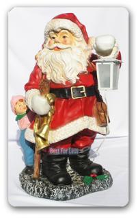 Weihnachtsmann Dekofigur Dekoration Außendeko