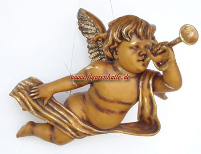 Engel Weihnachtsengel in gold optik Figur Deko