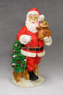 Weihnachtsmann Santa Claus Statue Figur Weihnat Deko