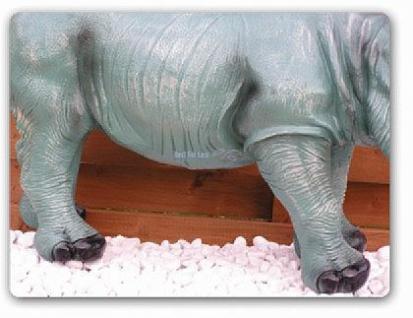 Afrikanisches Nashorn als Dekofigur Figur Deko - Vorschau 3