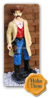 Marschall Cowboy Dekofigur Western Figur Statue - Vorschau 1