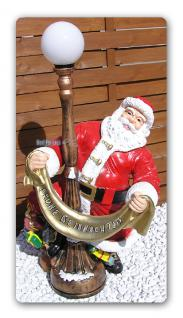 Weihnachtsmann Aufstellfigur Weihnachtsdekoration
