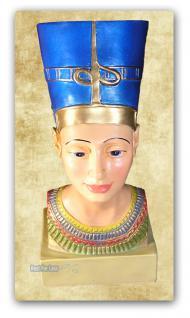 Nofretete Figur Skulptur Ägypten Statue Dekoration - Vorschau 3