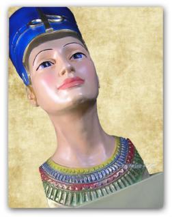 Nofretete Figur Skulptur Ägypten Statue Dekoration - Vorschau 4