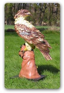 Adler Falke Dekofigur Raubfogel Figur Dekoration - Vorschau 2