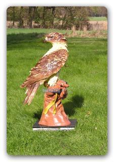Adler Falke Dekofigur Raubfogel Figur Dekoration - Vorschau 3