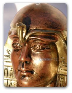 Ägyptische Dekofigur als Tisch Wohnzimmertisch - Vorschau 2