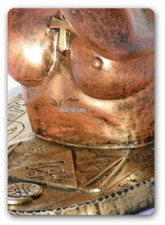 Ägyptische Dekofigur als Tisch Wohnzimmertisch - Vorschau 3