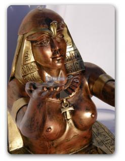 Ägyptische Dekofigur als Tisch Wohnzimmertisch - Vorschau 5