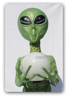 Alien Außerirdischer Dekofigur Figur Lampe