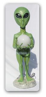Alien Außerirdischer Dekofigur Figur Lampe - Vorschau 2