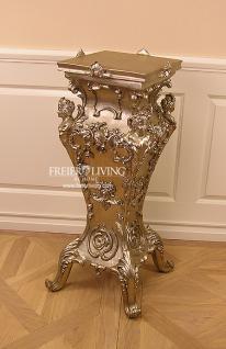 Barock Rokoko Beistelltisch Säule Telefontisch Deko Möbel Tisch