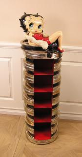 Betty Boop CD Regal Schrank Deko Figur Statue Skulptur