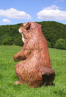 Präriehund 'Figur Statue Werbung Werbefigur Zoo Deko - Vorschau 5
