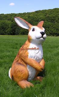 Osterhase groß Figur Außendekoration Hase Garten Ostern