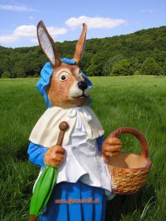 Osterhase Osterhäsin Figur Dekofigur Statue Ostern