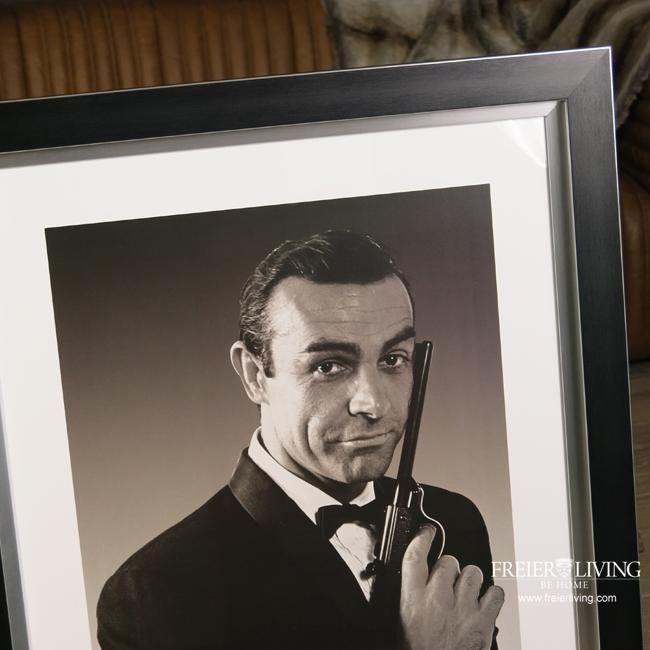 james bond 007 jagd dr no 1962 poster in rahmen. Black Bedroom Furniture Sets. Home Design Ideas