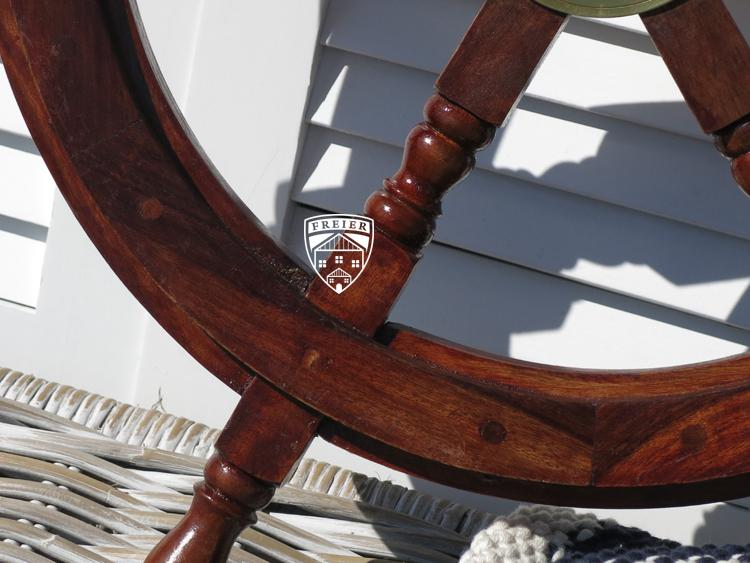 steuerrad segelschiff holz schiff boot modell deko maritim kaufen bei helga freier. Black Bedroom Furniture Sets. Home Design Ideas