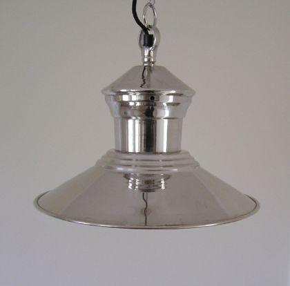 H ngelampe chrom antik k chenlampe deko lampe kaufen bei for Deko chrom