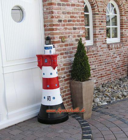 leuchtturm roter sand garten deko dekoration kaufen bei helga freier. Black Bedroom Furniture Sets. Home Design Ideas