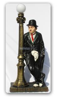 Charles Chaplin Lampe Dekofigur Laterne