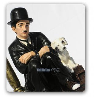 Charles Chaplin Lampe Dekofigur Figur Statue - Vorschau 2