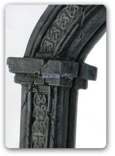 Drachen Spiegel im Gothic Style Figur Statue - Vorschau 4