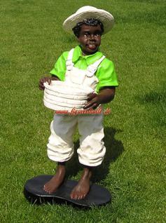 Black Boy Dekofigur Figur Afrika Butler - Vorschau 1