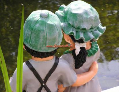 Junge und Mädchen als Figuren zur Garten Dekoration - Vorschau 3
