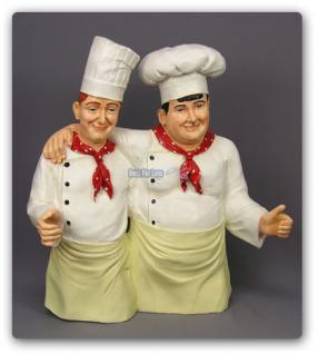 Dick und Doof als Koch Werbeaufsteller Werbefigur - Vorschau 2