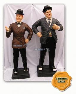 Stan Laurel Oliver Hardy Dick und Doof Figuren