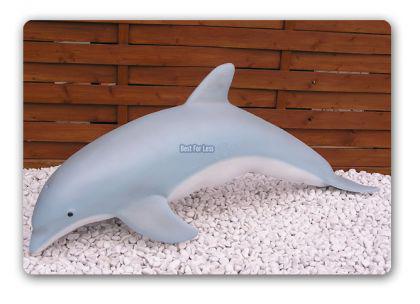 Delphin Figur Dekorationsfigur Aufstellfigur Deko