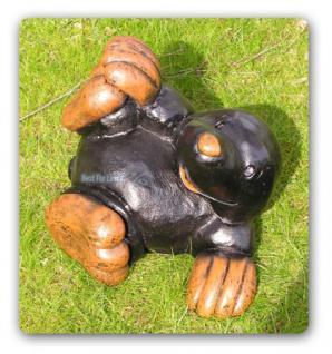 Maulwurf Dekofigur Spielender Dekofigur Figur