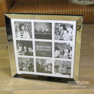 Rolling Stones Wandbild Spiegelrahmen Bilderrahmen Spiegel