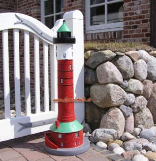 Leuchtturm wangerooge gartenfigur gartendekoration for Leuchtturm deko garten
