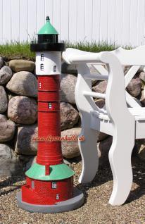 Leuchtturm Wangerooge Gartenfigur Gartendekoration