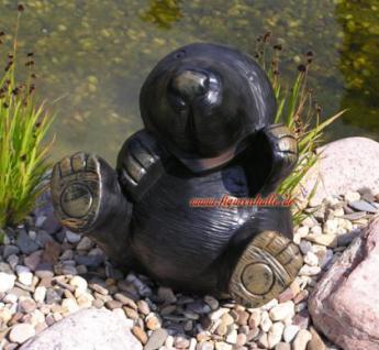 Maulwurf Schubkarre Gartenfigur Dekofigur - Vorschau 5