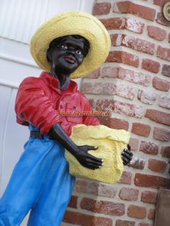 Black Boy Butlerfigur Diner Gartenfigur Statue - Vorschau 3