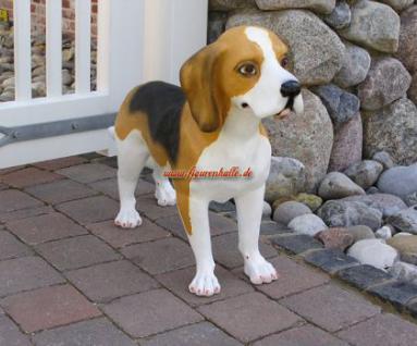 Beagle Terrier Figur Statue Dekoration Figur Deko - Vorschau 4