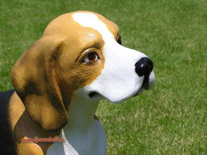 Beagle Terrier Figur Statue Dekoration Figur Deko - Vorschau 2