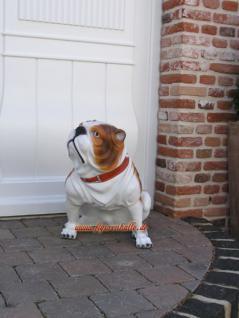 Englische Bulldogge als Dekofigur Tierfigur Figur - Vorschau 4