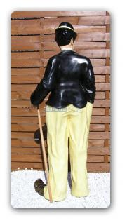 Charles Chaplin Figur Dekofigur Bar Kneipe Gastro - Vorschau 3