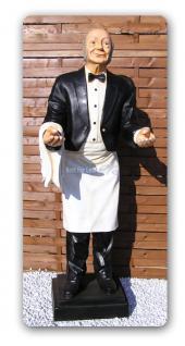 Opa Butler Diner Lebensgroß Figur Dekofigur Deko
