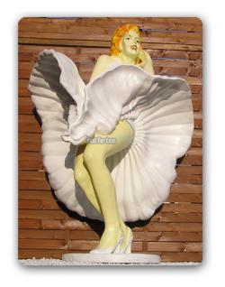 Marilyn Monroe Figur Lebensgroß Aufstellfigur Deko