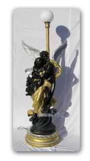 Engel Engels Lampe Armor Figur Stehleuchter Statue - Vorschau 2