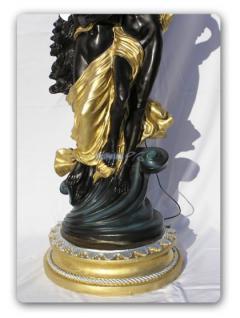 Engel Engels Lampe Armor Figur Stehleuchter Statue - Vorschau 3