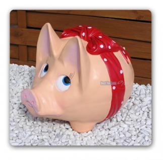 Riesen Sparschwein Spardose Dekofigur Deko - Vorschau 1