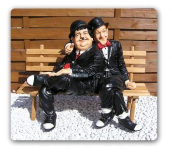 Dick und Doof Stan Laurel Oliver Hardy Figur - Vorschau 1