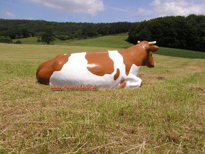Kuh Lebensgroß Bauernhof Dekofigur - Vorschau 3